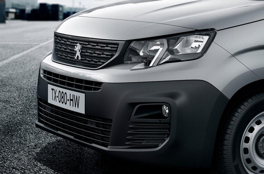 """""""Peugeot"""" pristato naująjį """"Partner"""""""