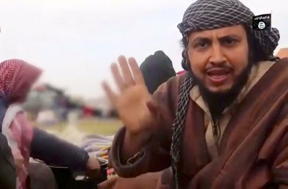 """""""Islamo valstybės"""" kovotojas Sirijoje"""