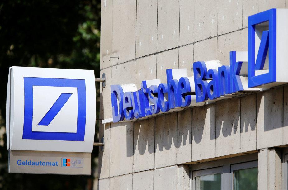 """""""Deutsche Bank"""" skyrius Kiolne"""
