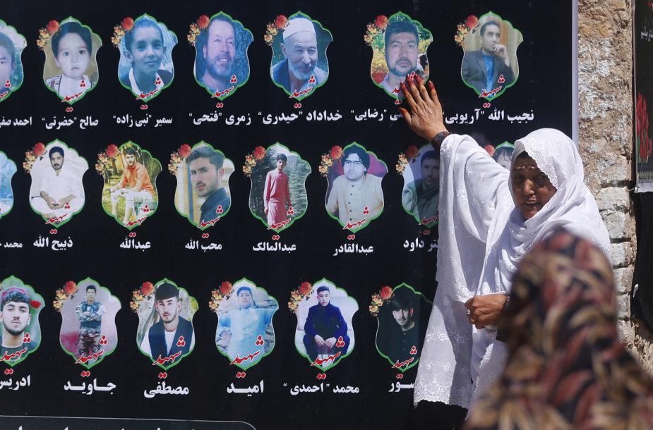 Afganistanas gedi išpuolio aukų