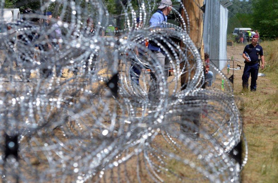 Vengrijos statoma siena