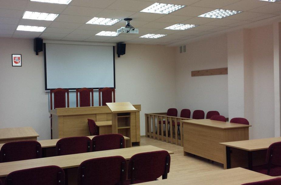 Teismo salė Vilniaus universitete