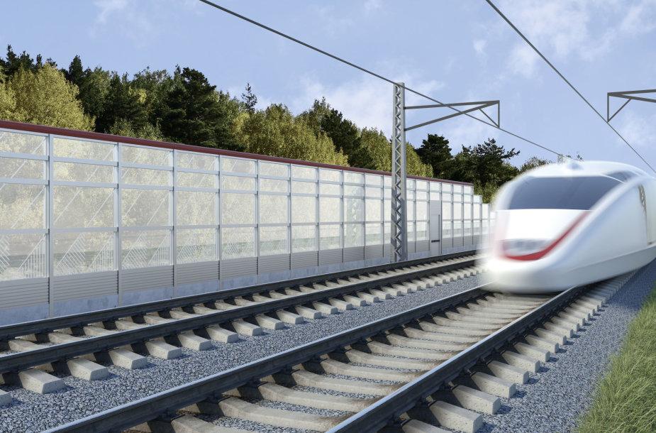 "Paskelbti ""Rail Baltica"" infrastruktūros elementų eskizai"