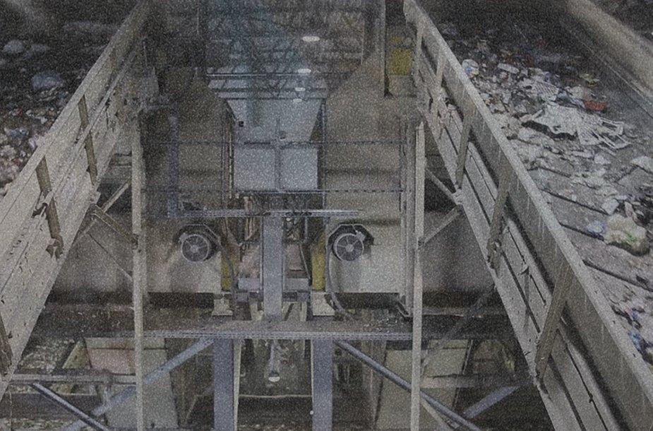 Atliekų rūšiavimo gamykla