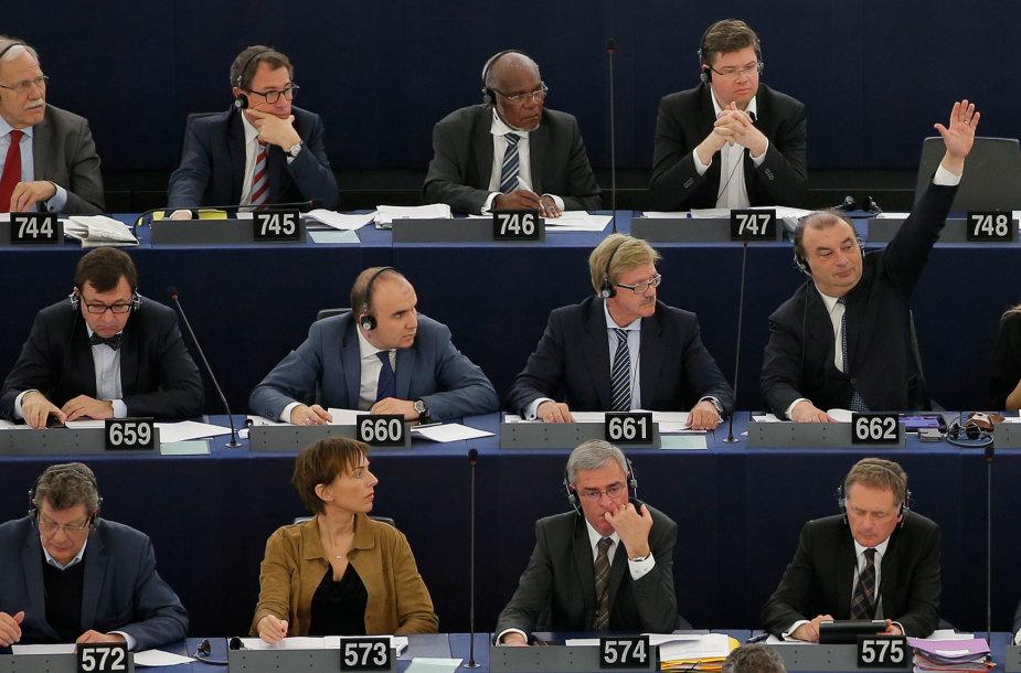 Balsavimas Europos Parlamente