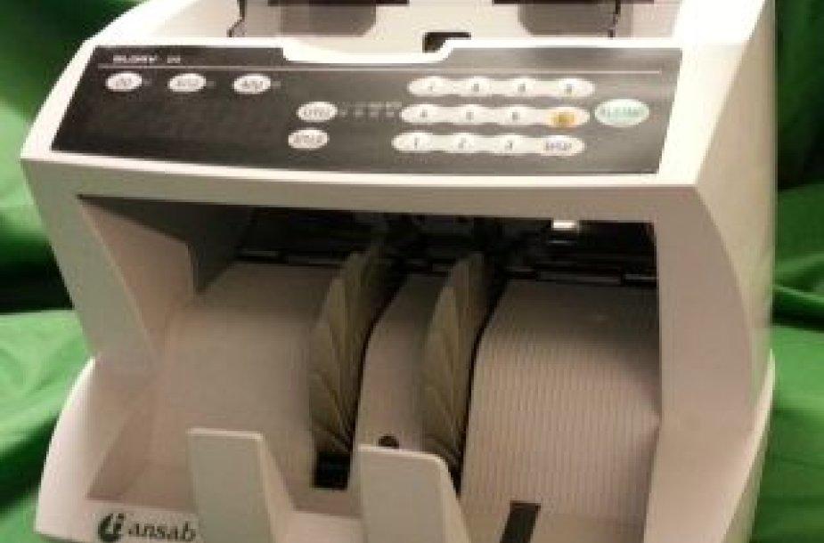 Pinigų skaičiavimo mašina