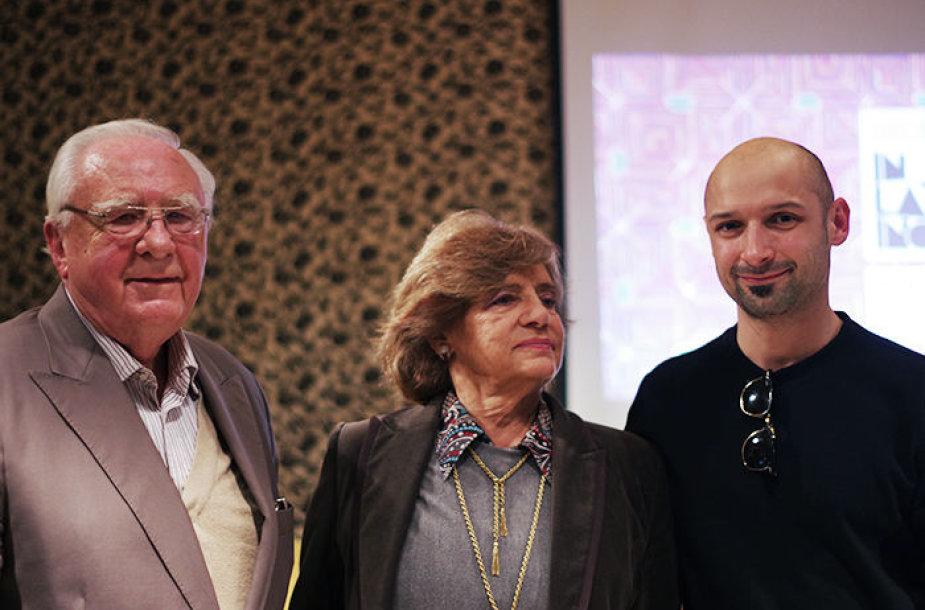 Susitikimas su Jurgio Didžiulio seneliais Algiu ir Laima Didžiuliais
