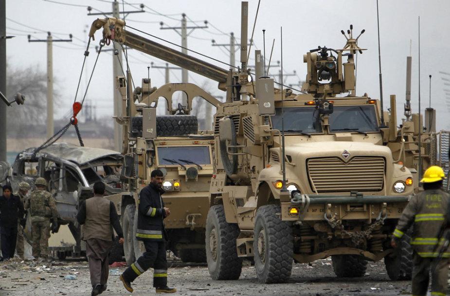Sprogimo vietoje penktadienį Kabule