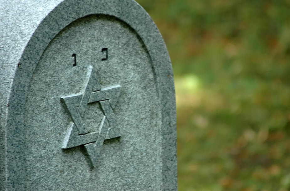 Dovydo žvaigždė ant paminklo