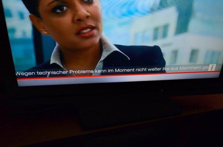 """Manheime po pranešimo apie sprogmenį nutraukta """"Germany's Next Top Model"""" transliacija."""