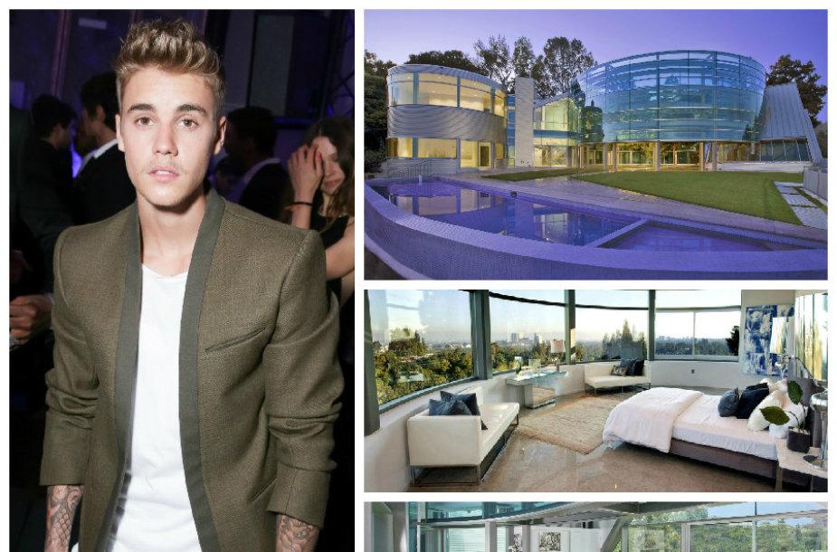 Namai, kuriuose gyvena Justinas Bieberis