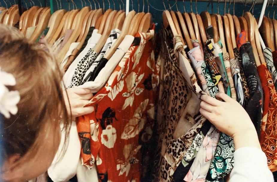 Dėvėti drabužiai