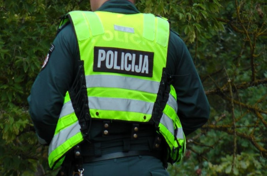 Kauno rajono policijos pareigūnas