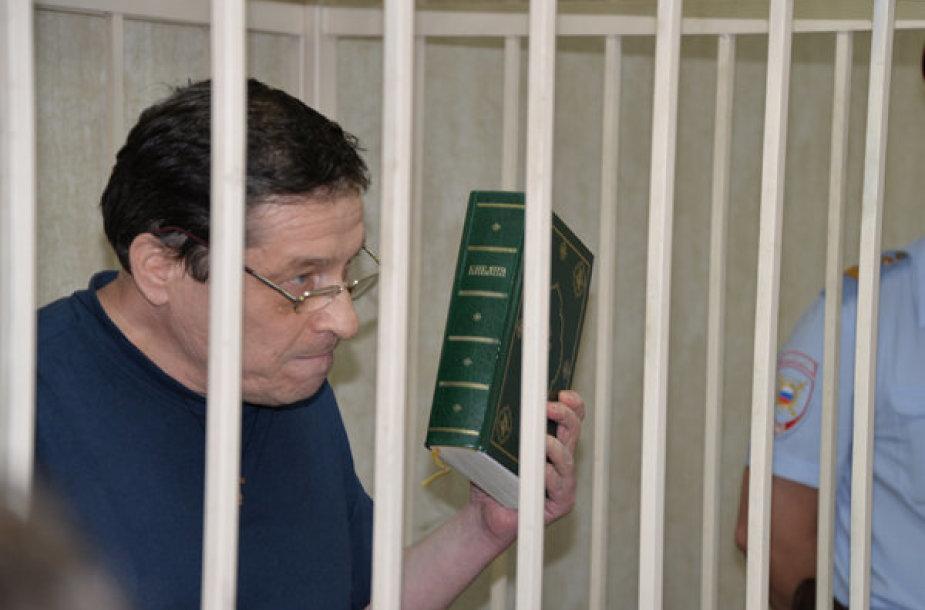 """Aleksandras Poluchinas Voronežo teisme svarstant """"aguonų bylą"""""""