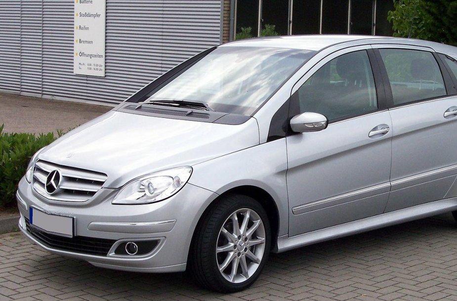 """B klasės """"Mercedes Benz"""""""