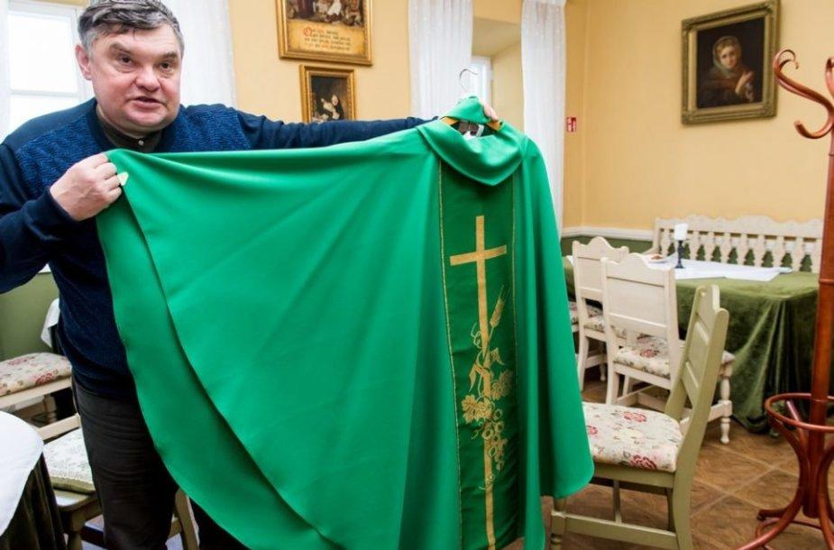 Antašavos šv Hiacinto (Jackaus) parapijos administratorius dr. Rimantas Gudelis