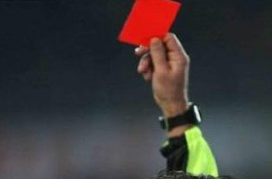 Raudona kortelė