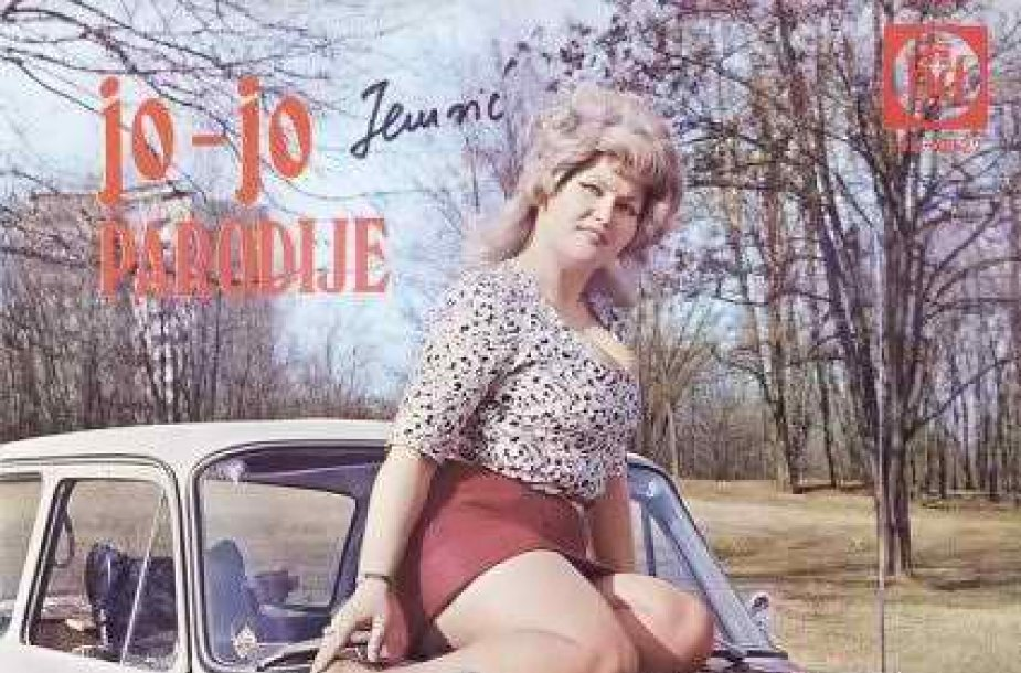 Jugoslaviškos muzikos albumo viršelis