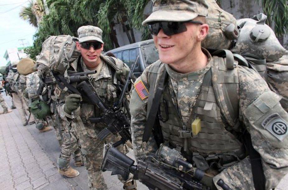 JAV kariai Haityje