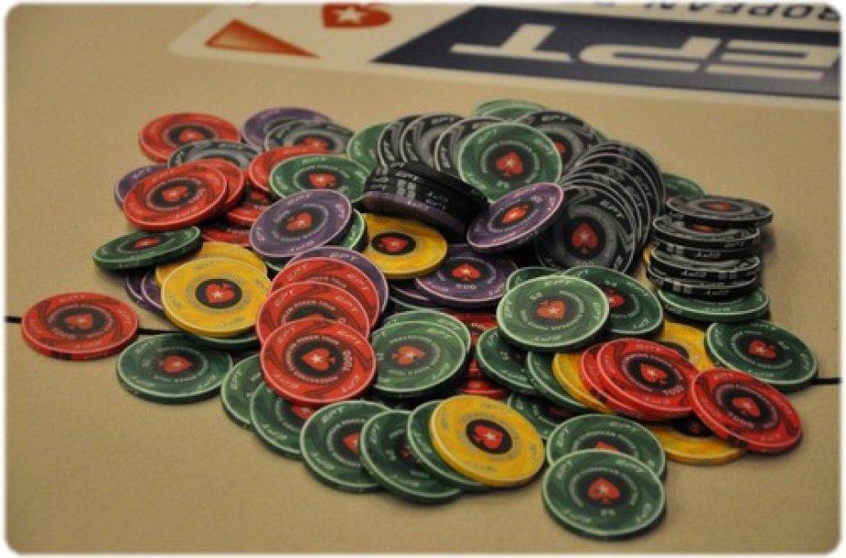 EPT pokerio žetonai