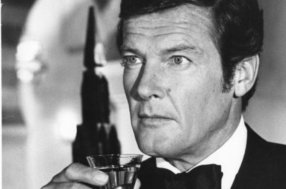 Trečiasis Bondas – Rogeris Moore'as