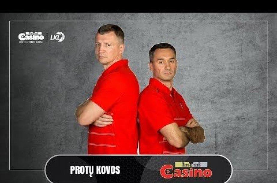Tomas Pačėsas ir Evaldas Kandratavičius