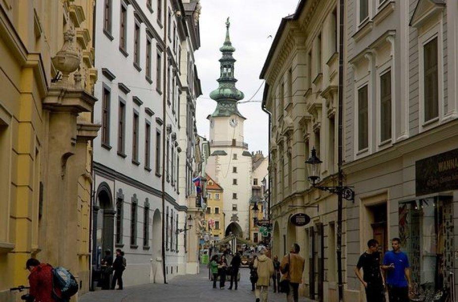 Iš apsnūdusio provincijos miestelio Bratislava tapo jaukia ir modernia Europos sostine.