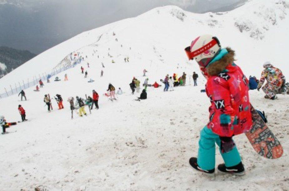 На сочинском курорте сошла лавина: погибли две горнолыжницы