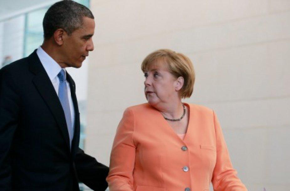 Обама перестал следить за Меркель