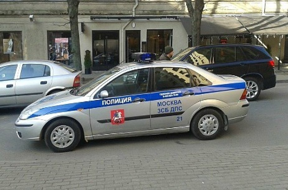 Maskvos policija Rygoje