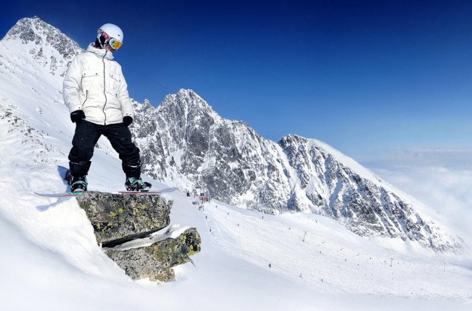 Kur užsiimti snieglenčių sportu šiemet: Aukštuosiuose ar Žemuosiuose Tatruose?