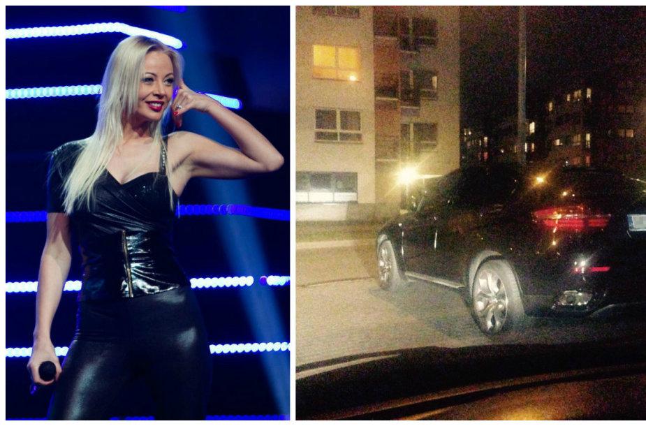 Vilija Pilibaitytė-Mia ir jos automobilis