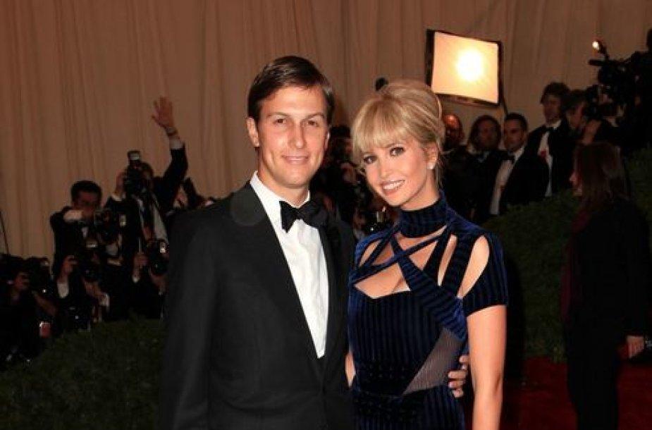Ivanka Trump su vyru Jaredu Kushneriu