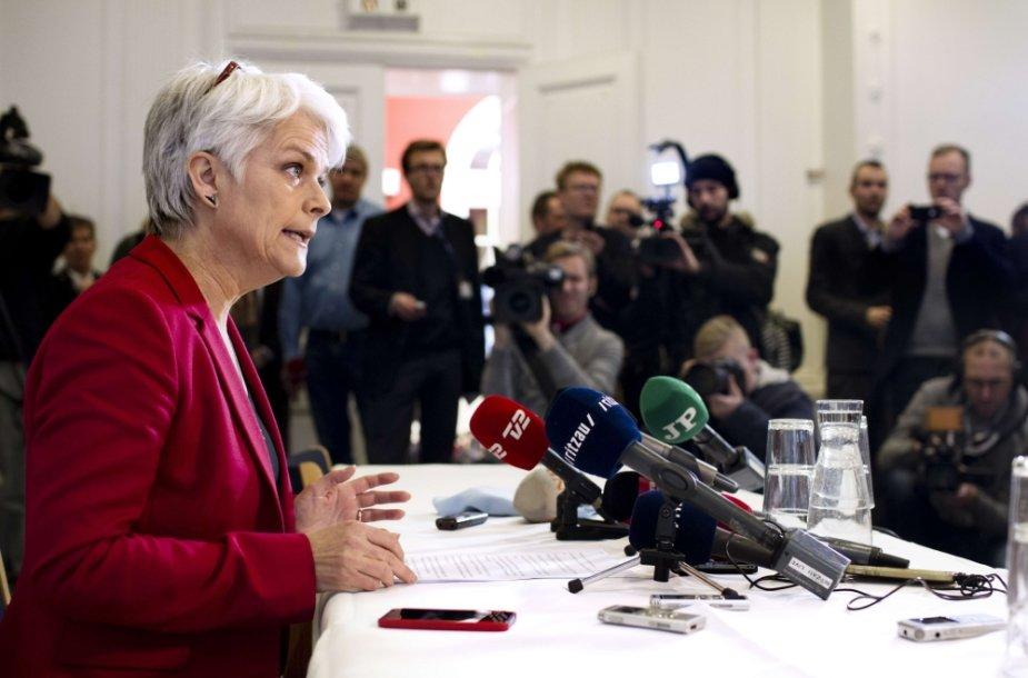 Danijos Socialistų liaudies partijos lyderė Annette Vilhelmsen