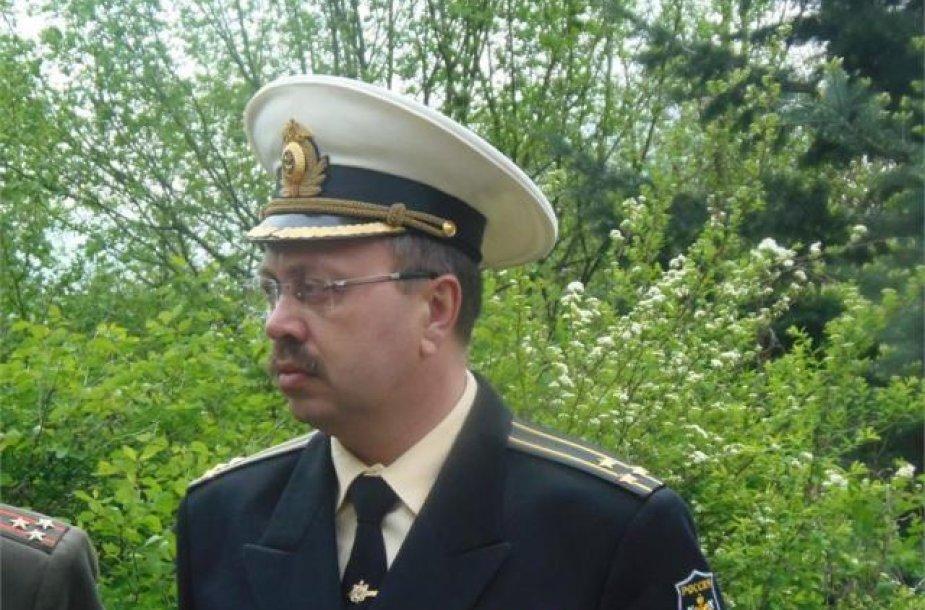 Rusijos karinės žvalgybos GRU agentas Eduardas Šišmakovas