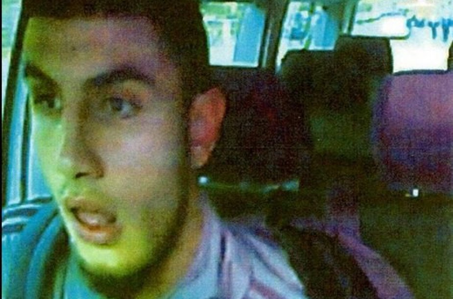 Įtariamasis šaulys Omaras Abdelis Hamidas el-Husseinas.
