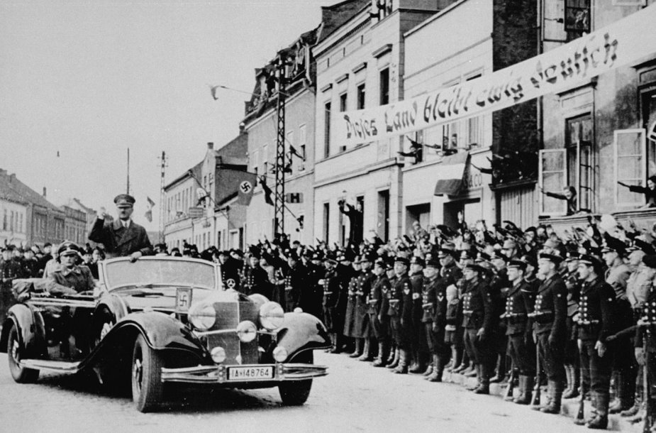 Adolfas Hitleris Klaipėdoje