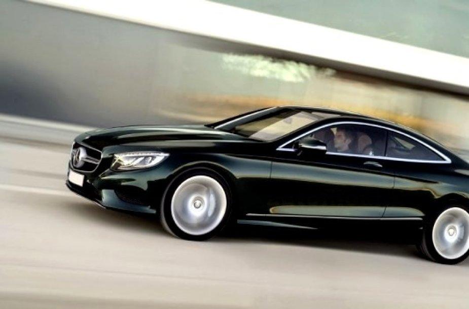 """""""Mercedes-Benz"""" S klasės kupė modelis"""