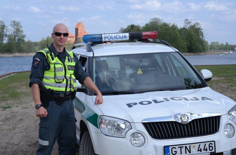 Policijos pareigūnas Sigitas Gulbinas