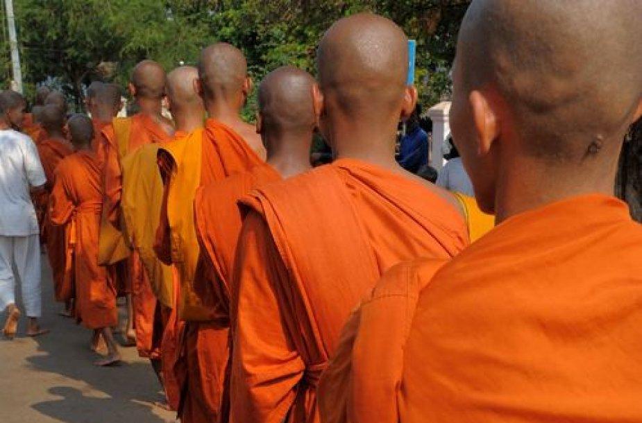 Budistų vienuoliai