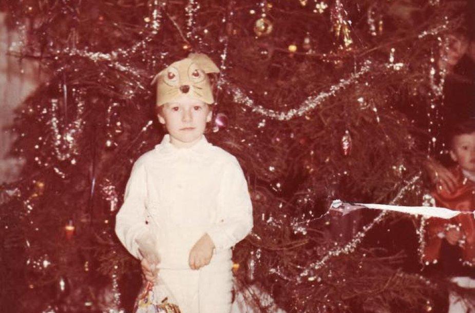 Merūnas Vitulskis vaikystėje