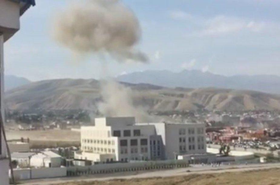 Sprogimas Biškeke