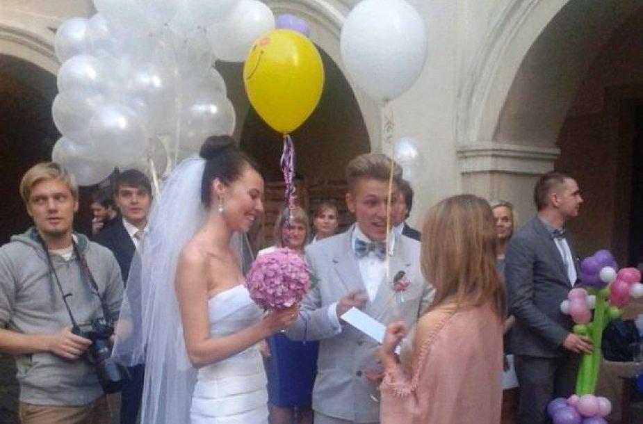 Vilius Tamošaitis ir Ingrida Babiliūtė