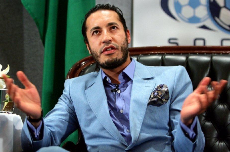 Al Saadi Kadhafi