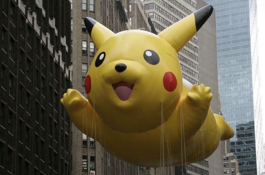 """Europoje vaizdo žaidimų parduodama vis daugiau. Nuotraukoje – populiarus """"Pokemonų"""" personažas."""
