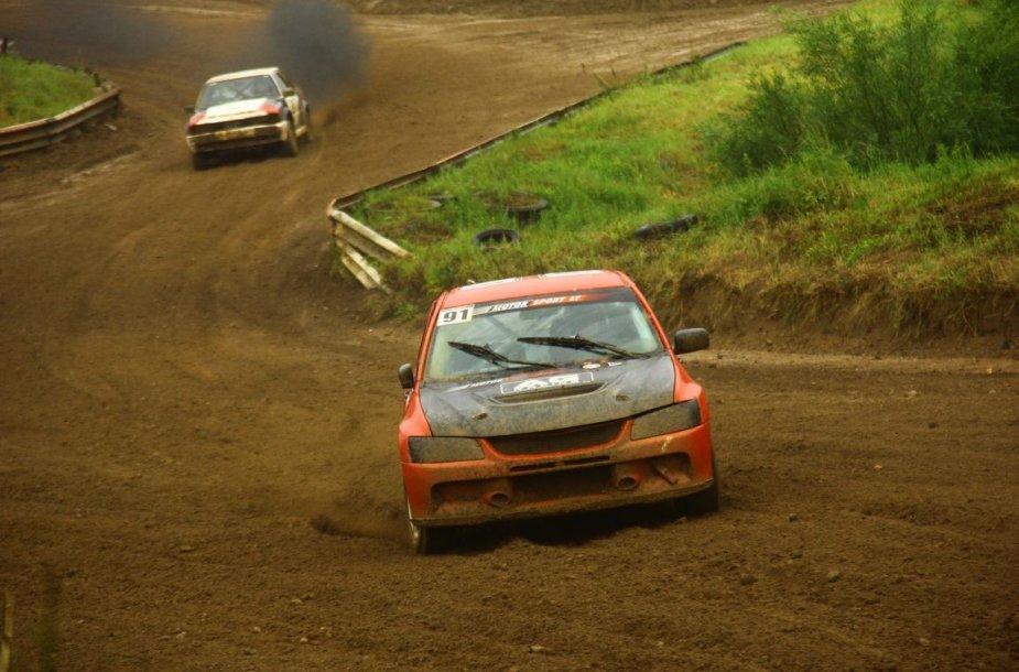 Lietuvos automobilių kroso čempionato pirmojo etapo akimirkos