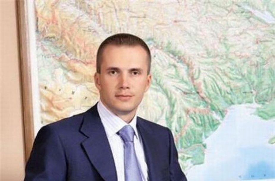 Ukrainos prezidento sūnus Oleksandras Janukovyčius tėvo valdymometu pasakiškai praturtėjo