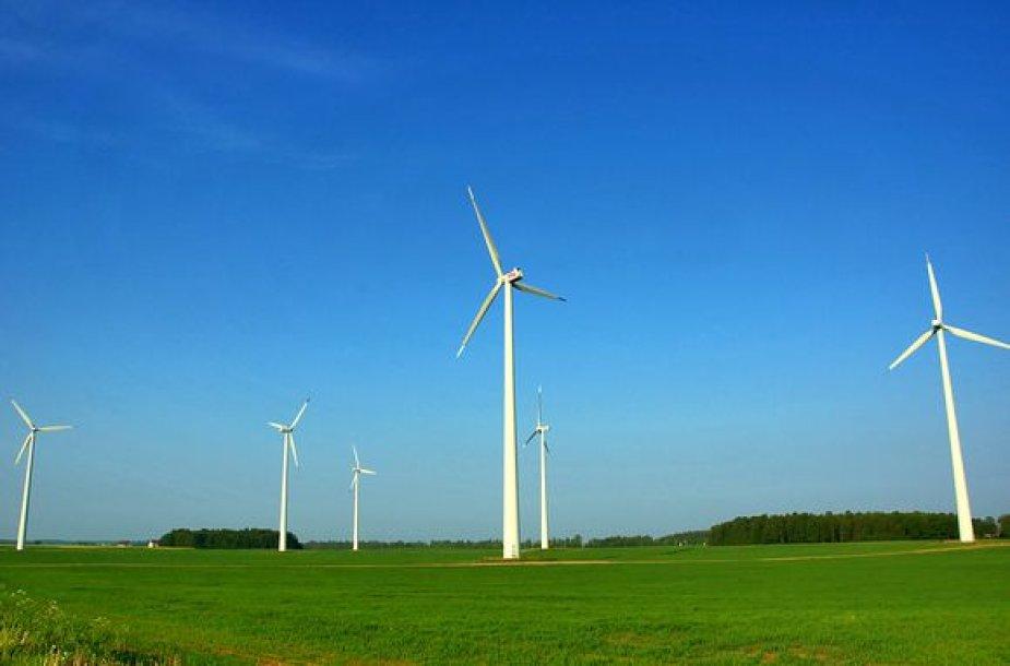 Vėjo energija vertinama kaip didžiulis potencialas elektros energijos gamybai.