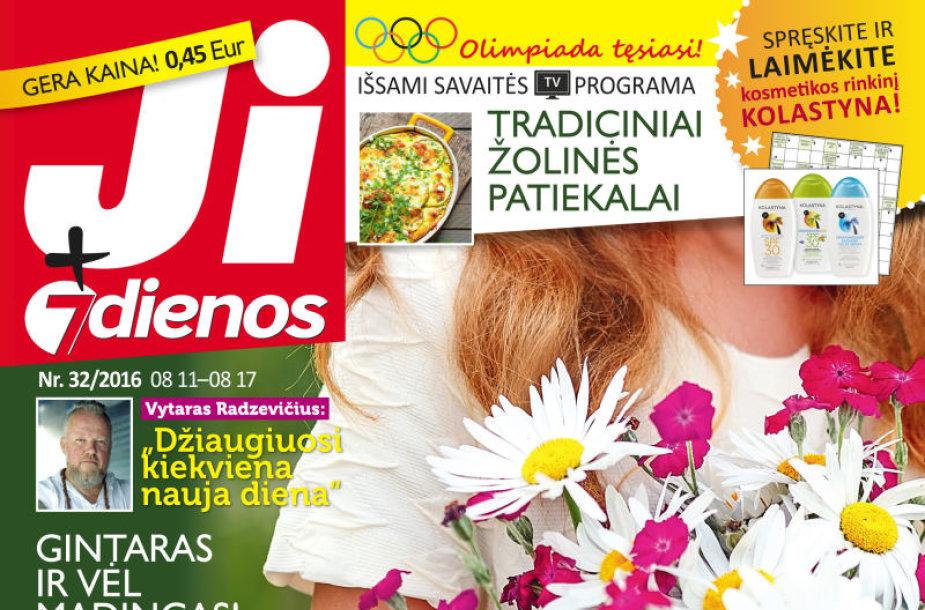 """Žurnalas """"Ji + 7 dienos"""" (32 nr.)"""