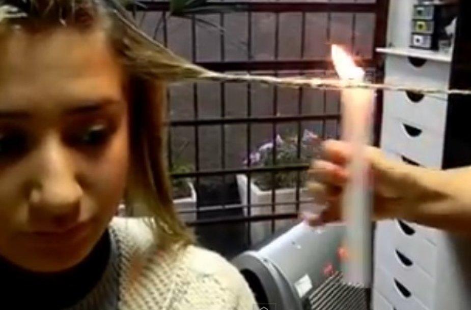 Gražių ir žvilgančių brazilių garbanų paslaptis – plaukų deginimas!